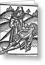 Bezoar Stone, 1491 Greeting Card