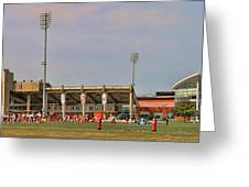 Bgsu Doyt Perry Stadium 3285 Greeting Card