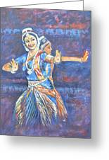 Bharatha Naatyam Greeting Card