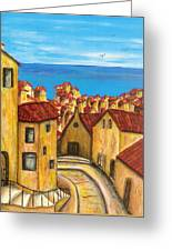 Biagi In Tuscany Greeting Card