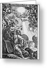 Bible History, 1752 Greeting Card