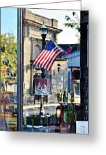 Biblion Used Books Reflections 2 - Lewes Delaware Greeting Card