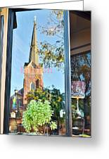 Biblion Used Books Reflections 3 - Lewes Delaware Greeting Card