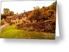 Bibury Almhouses Greeting Card