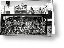 Bicycle Heaven Greeting Card