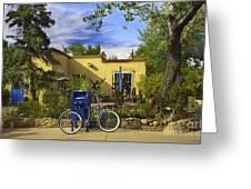 Bicycle In Santa Fe Greeting Card