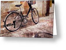 Bicycle Revisited Greeting Card