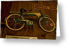 Bicycle Shop Greeting Card
