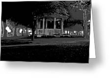 Bienville Square Grandstand Posterized Greeting Card