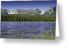 Bierstadt Lake Greeting Card by Tom Wilbert