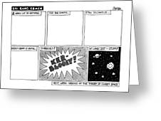 Big Bang Comix Greeting Card