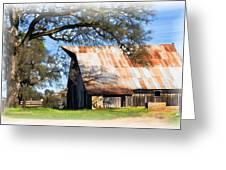 Big Barn On Mccourtney Greeting Card by William Havle