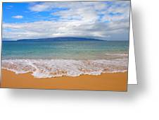 Big Beach Maui Greeting Card
