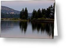 Big Bear Lake Greeting Card