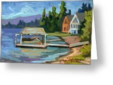Big Bear Lake South Shore 2 Greeting Card