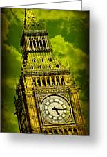 Big Ben 14 Greeting Card