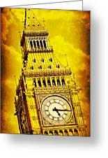 Big Ben 15 Greeting Card