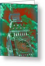 Big Ben 16 Greeting Card
