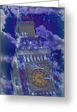Big Ben 17 Greeting Card