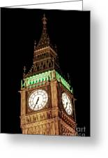 Big Ben Close Up Greeting Card