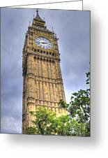 Big Ben - Elizabeth Tower Greeting Card