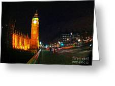 Big Ben - London Greeting Card