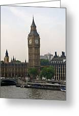 Big Ben From The Eye Greeting Card