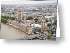 Big Ben Westminster Greeting Card by Donald Davis
