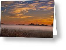 Big Break Ground Fog Greeting Card