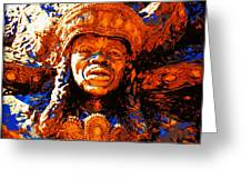Big Chief Tootie Greeting Card