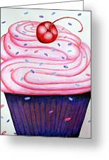 Big Cupcake Greeting Card