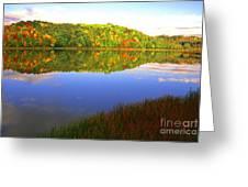 Big Ditch Lake West Virginia Greeting Card