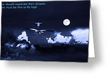 Big Dreams Greeting Card by Manjot Singh Sachdeva