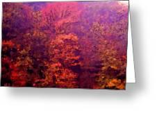 Big Hill Autumn Greeting Card