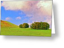 Big Island Ranch Greeting Card