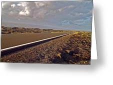 Big Island Road Greeting Card