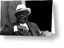 Big Jake Homage 1971 Bill Walker The Deacon The Great White Hope Globe Arizona Greeting Card
