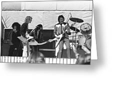 Big Jam At Day On The Green 1976 Greeting Card