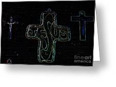 Big Jesus Greeting Card