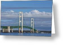 Big Mackinac Bridge 59 Greeting Card