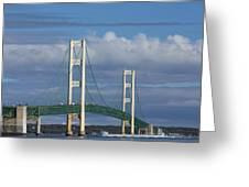 Big Mackinac Bridge 61 Greeting Card