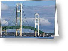 Big Mackinac Bridge 63 Greeting Card