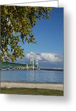 Big Mackinac Bridge 68 Greeting Card