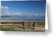 Big Mackinac Bridge 70 Greeting Card
