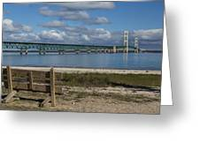 Big Mackinac Bridge 72 Greeting Card