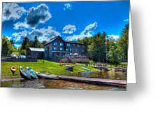 Big Moose Inn - Eagle Bay New York Greeting Card