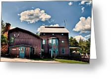Big Moose Inn Located In Eagle Bay Ny Greeting Card