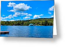 Big Moose Lake In The Adirondacks Greeting Card