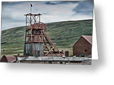 Big Pit Colliery Greeting Card