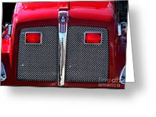 Big Red Fire Truck Greeting Card